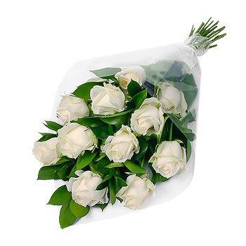 Букет из белых роз Нежные Розы