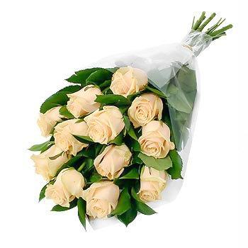 Букет из персиковых роз Неожиданные Розы