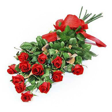 Bouquet of red roses For Girl