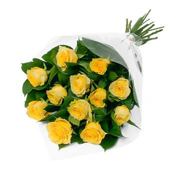 Bouquet of yellow roses Sunny Roses