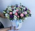 Фото 1. Доставка квіткової композиції в коробці - Івано-Франківськ, Україна. florist.com.ua